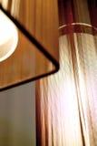 Lampen met Bruine Schaduwen Royalty-vrije Stock Afbeeldingen