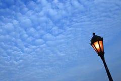Lampen-Pfosten Stockfoto