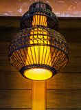 Lampen-thailändische Art Stockfoto