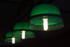 Lampen voor biljart Royalty-vrije Stock Afbeeldingen