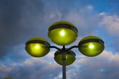 Lampenpfosten Lizenzfreies Stockfoto