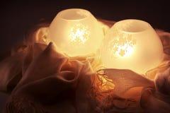 Lampes à lueur Photo libre de droits