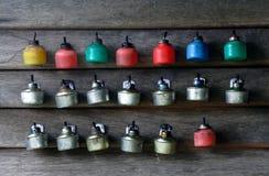 Lampes à pétrole Image libre de droits