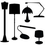 Lampes électriques Images libres de droits