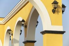 Lampes électriques Photo stock