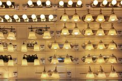 Lampes. Photo libre de droits