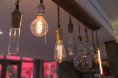 Lampes Photographie stock