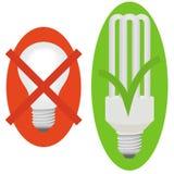 Lampes illustration stock