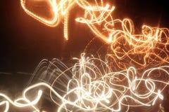 Lampes au néon Photo libre de droits