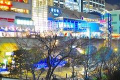 Lampes au néon de Tokyo image libre de droits