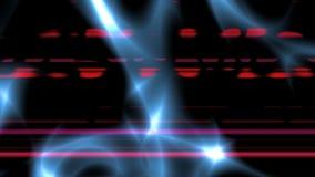Lampes au néon sur le fond vif clips vidéos