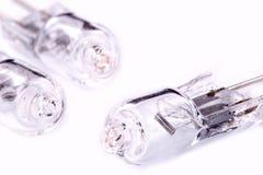 Lampes d'halogène Images stock