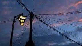 Lampes d'Ohrid images libres de droits