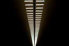 Lampes dans le souterrain Image libre de droits