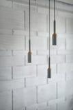 Lampes dans le style de grenier Photographie stock libre de droits