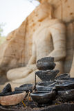 Lampes de bouddhisme  images libres de droits