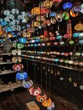 Lampes de Camden Market image stock