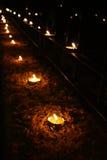 Lampes de Diwali photographie stock libre de droits