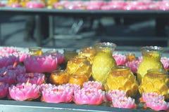 Lampes de fleur de lotus Photos libres de droits