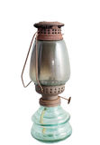 Lampes de kérosène antiques Image libre de droits