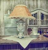 Lampes de lecture, photo dans le vieux style d'image Photos stock