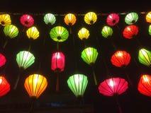 Lampes de papier Images stock