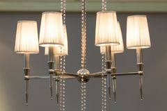 lampes de plafond de style de vintage Images libres de droits