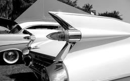 Lampes de queue américaines classiques de voiture Photographie stock