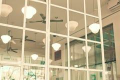 Lampes de restaurant de vintage Photographie stock