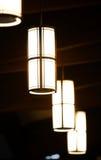 Lampes de toit Photographie stock libre de droits