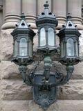 Lampes en pierre Photographie stock