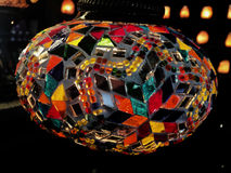 Lampes faites main turques de mosaïque Image libre de droits