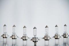Lampes H7 55 W de voiture Images libres de droits