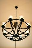 Lampes, kroonluchters Stock Foto's