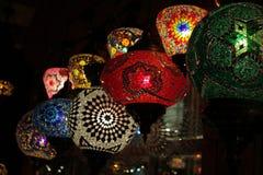 Lampes orientales Photos libres de droits