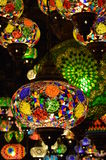 Lampes orientales, Camden Lock Market Photographie stock