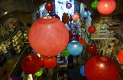 Lampes pendantes de boule Photo libre de droits