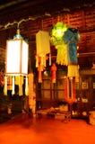 Lampes thaïlandaises traditionnelles Photo libre de droits