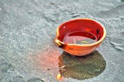 Lampes traditionnelles de Diwali Image stock