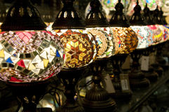 Lampes turques Photographie stock