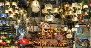 Lampes turques Image libre de droits