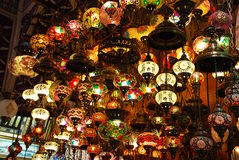 Lampes turques Photos stock