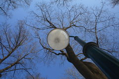 lampgata Arkivbilder