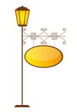 Lampgata Arkivfoton