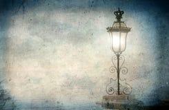 lampgata Royaltyfria Foton