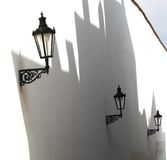 lampgata Royaltyfri Fotografi
