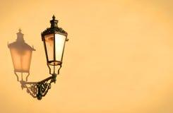 lampgata Fotografering för Bildbyråer