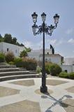 Lampgata i fyrkanten Royaltyfri Fotografi