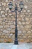 lampgatatappning Fotografering för Bildbyråer