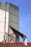 Lampglas på taket - Paris - Frankrike Royaltyfria Bilder